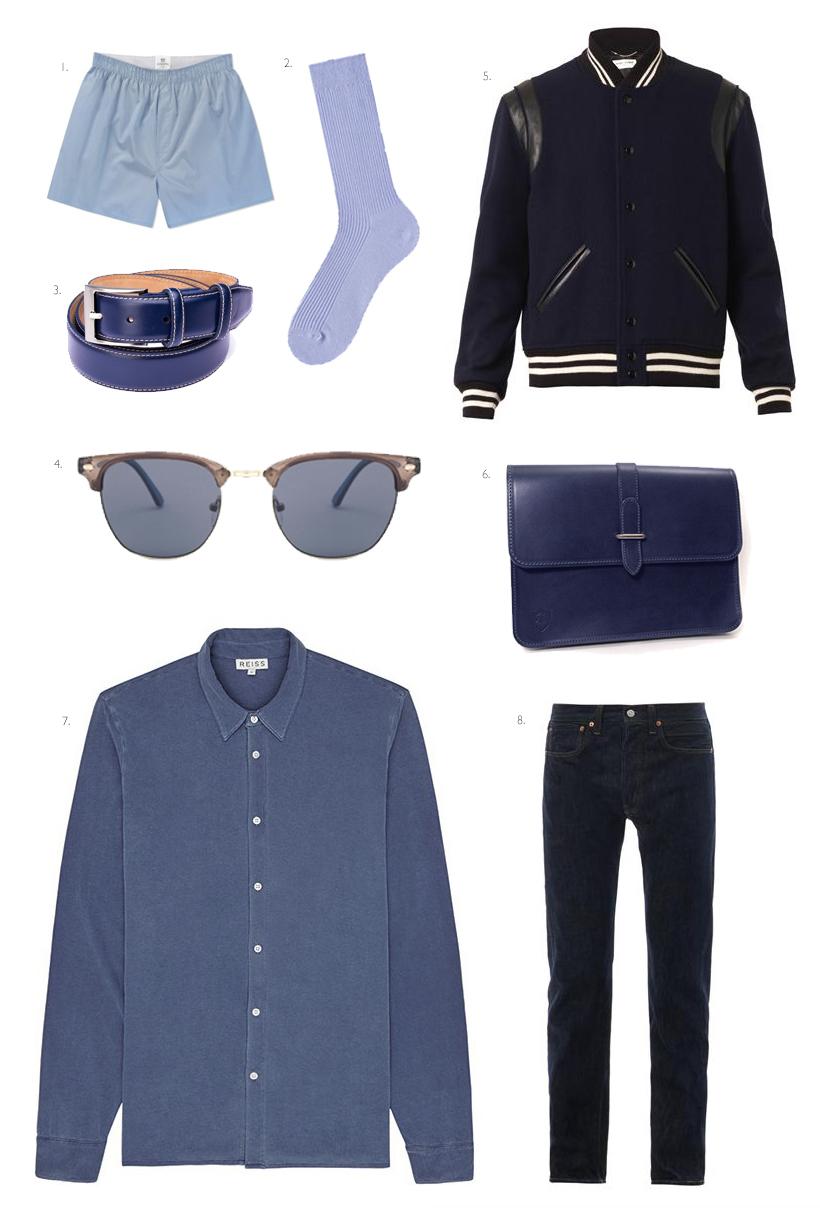 GarconJon x Unfold London : True Blue