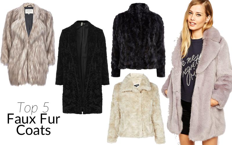 Top 5 Faux Fur Coats