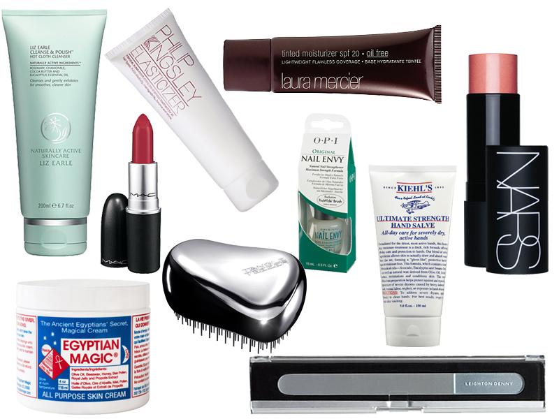 Top 10 Beauty Essentials
