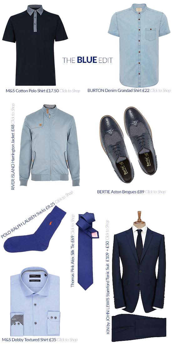 The Men's Blue Edit
