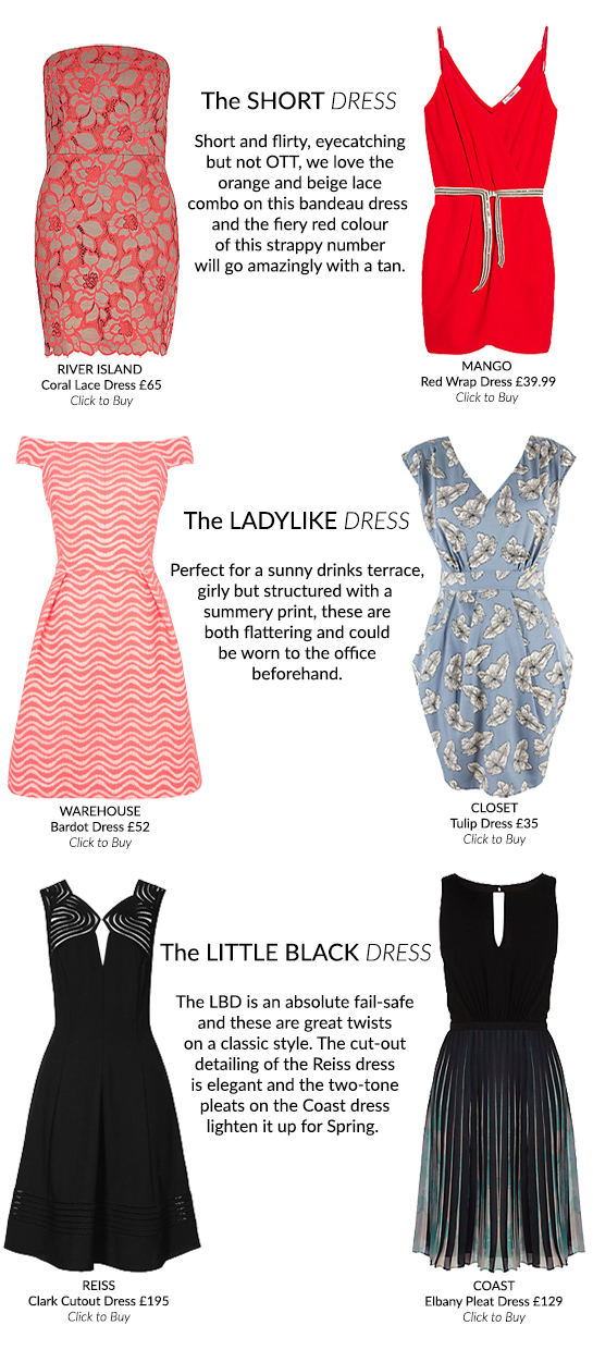 The Spring Dress Guide: Cocktails