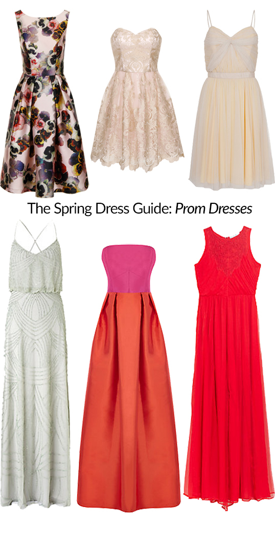 The Spring Dress Guide: Prom Dresses