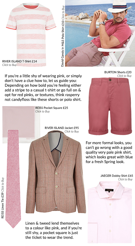 The Men's Guide to Wearing Pink