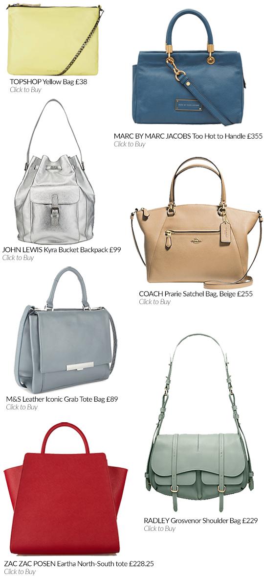The Spring Bag Edit