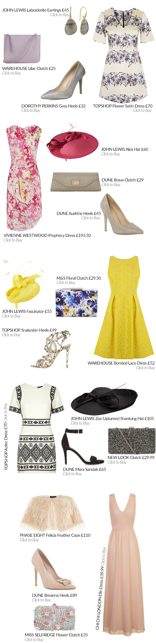 The Spring Dress Guide: Wedding Guest