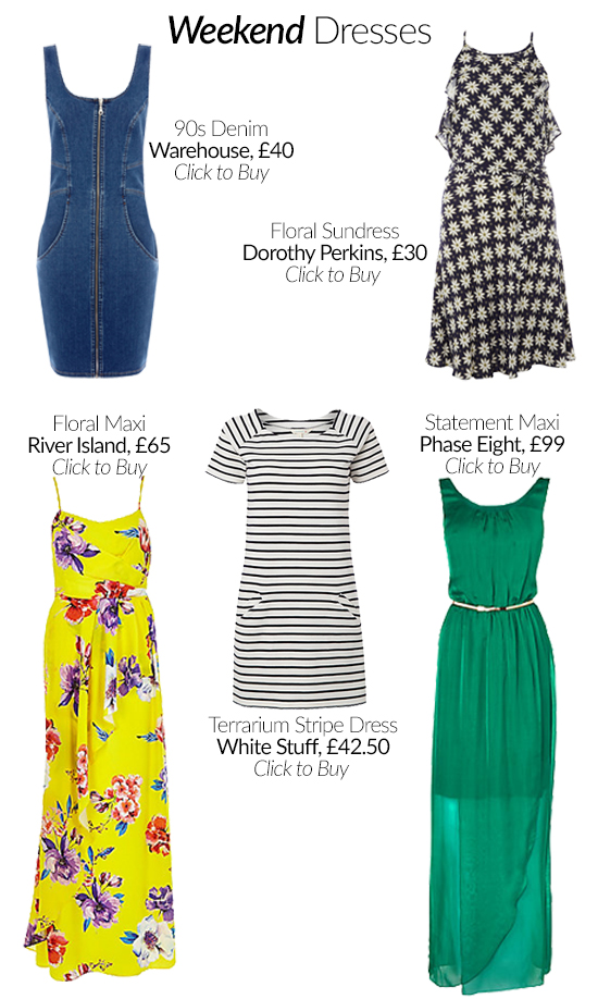 The Spring Dress Edit: Work and Weekend
