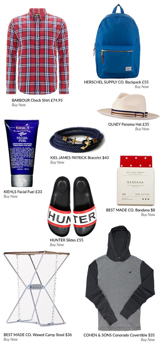 Summer Adventure Kit List