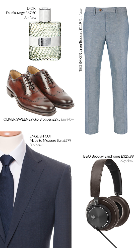 The May Lust List for Men