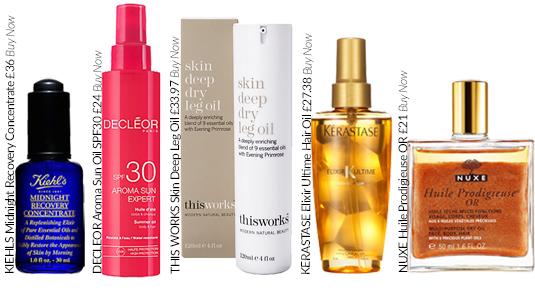 How to Use Beauty Oils