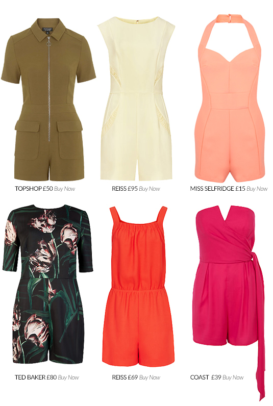 Playsuits For High Summer