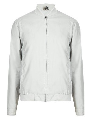 Autograph Pure Cotton Bomber Jacket with Stormwear™, £59