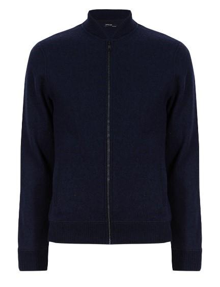 Autograph Wool Rich Slim Fit Bomber Jacket, £59.50