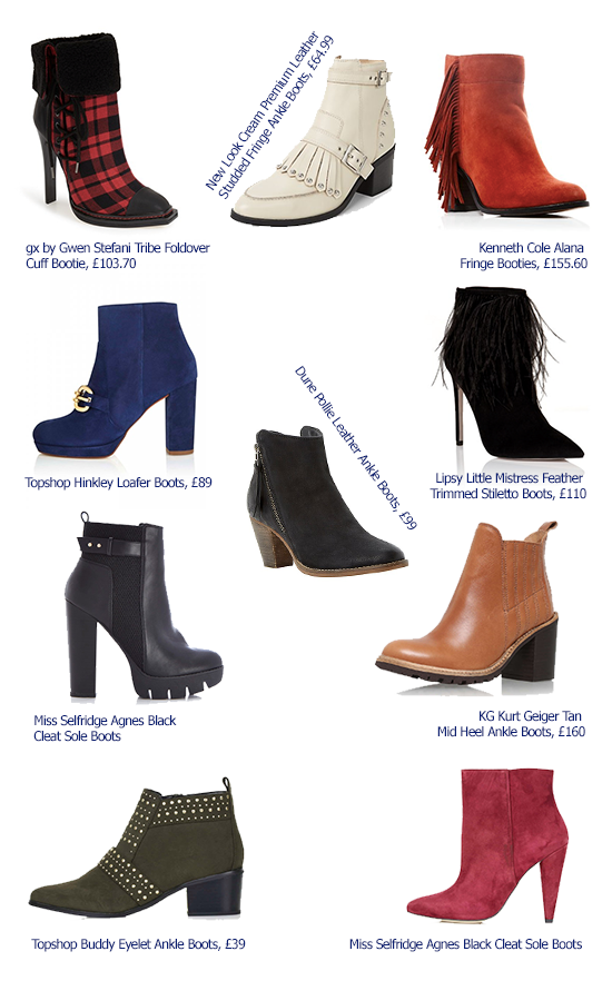 AW15 Ankle Boots