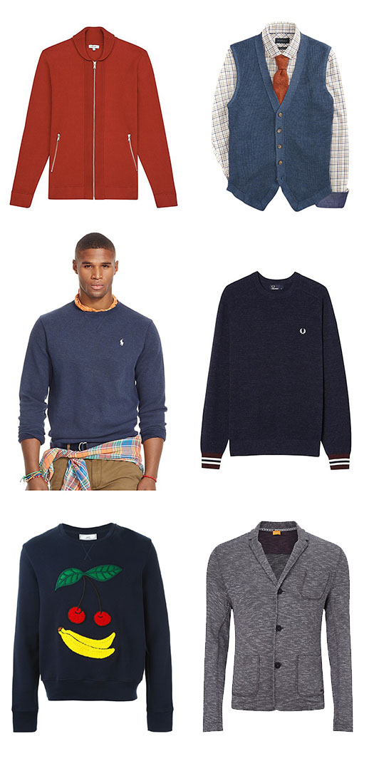 MEN'S JUMPERS & KNITS