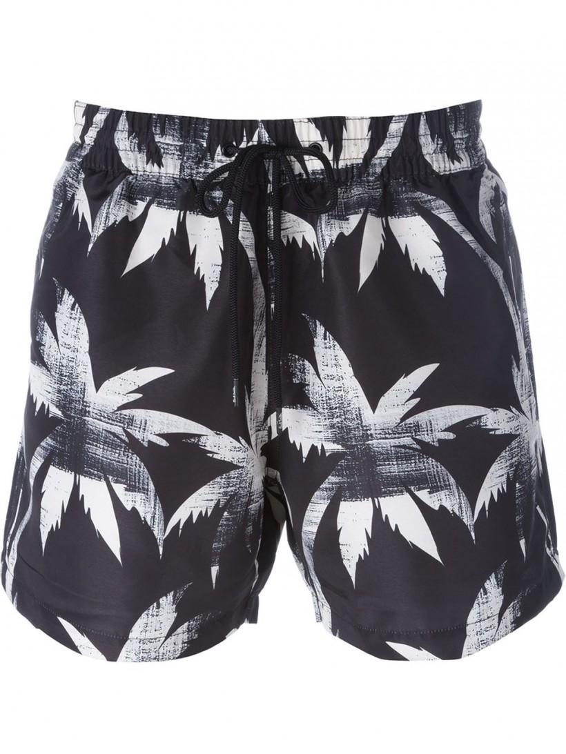 Paul Smith Palm Print Swim Shorts