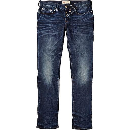 Dark wash Dylan slim jeans