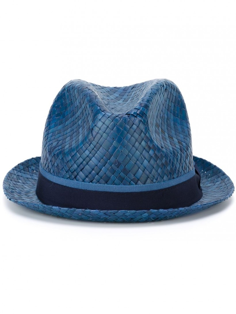 Paul Smith woven trilby hat