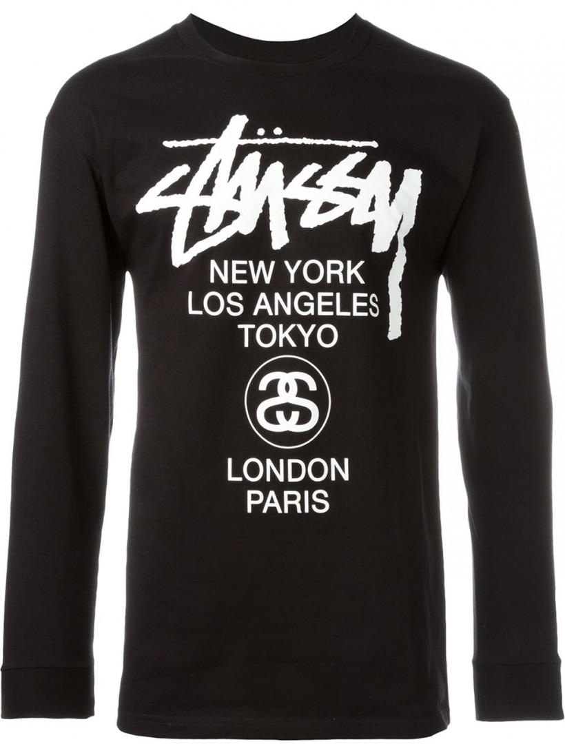 Stussy Long Sleeved T-Shirt