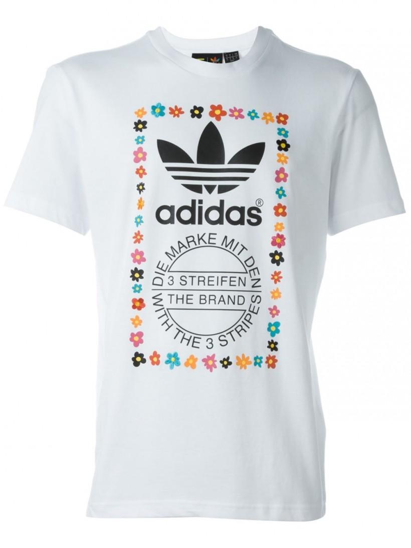 Adidas Graphic Print T-Shirt