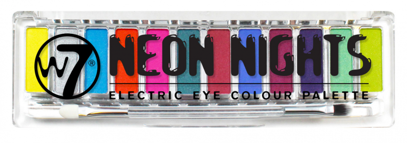 W7 NEON NIGHTS ELECTRIC EYE COLOUR PALETTE