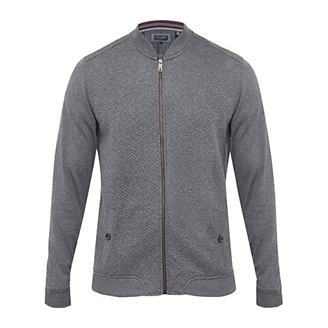 TED BAKER T FOR TALL BRUNOTT QUILTED BOMBER JACKET