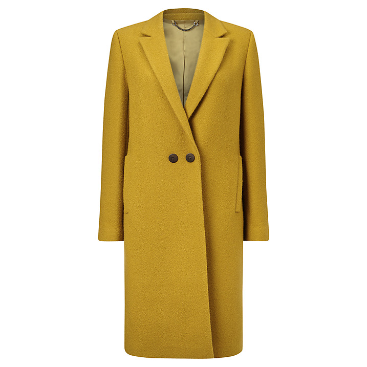 JIGSAW MATSCHINSKY NARROW DOUBLE BREASTED COAT