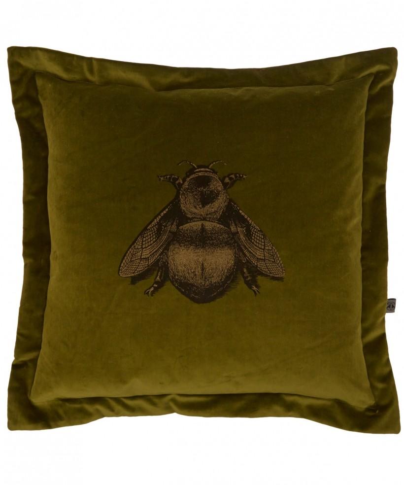 TIMOROUS BEASTIES NAPOLEON BEE VELVET CUSHION