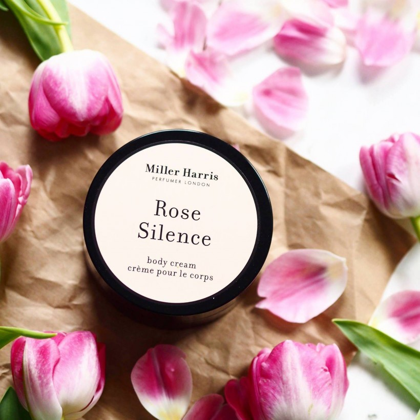 FASHION FOR LUNCH REVIEWS MILLER HARRIS ROSE SILENCE BODY CREAM