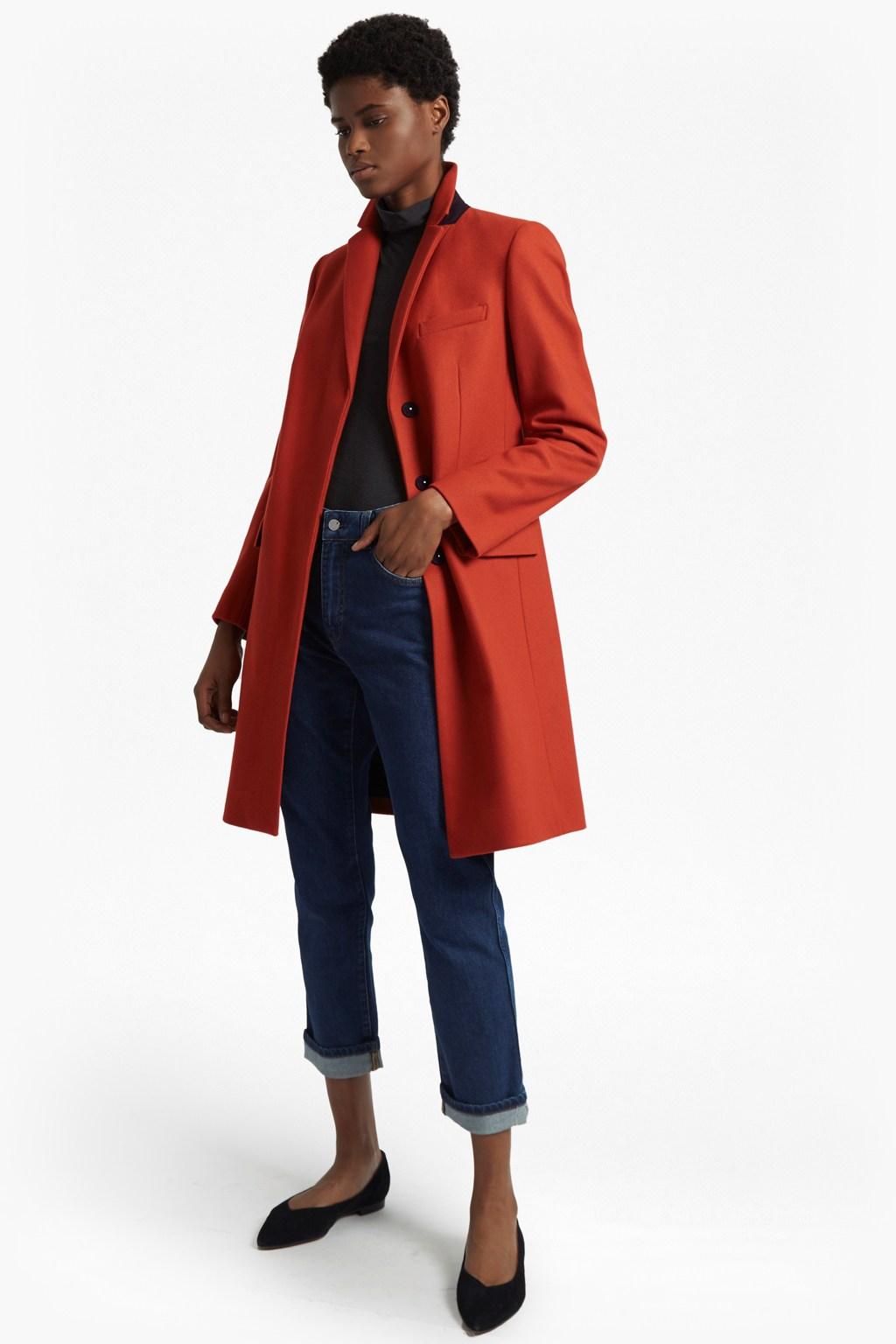platform-felt-long-sleeved-smart-fit-coat